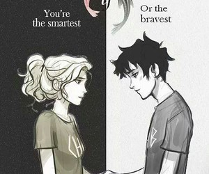 percy jackson, love, and percabeth image