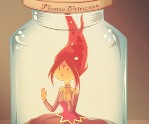 adventure time, flame princess, and hora de aventura image