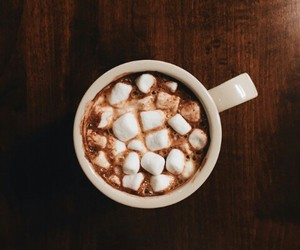 chocolate, drink, and cocoa image