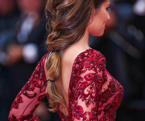 fashion, hair, and dress image