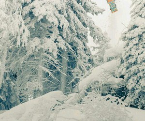 lovely, snowboard, and snow image