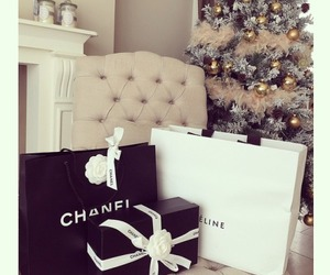 chanel, christmas, and winter image