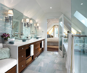 bathroom, luxury, and interior image