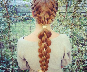 hair, hairstyle, and things image