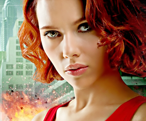 actress, Avengers, and hairstyle image