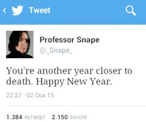 funny, harry potter, and happy new year image