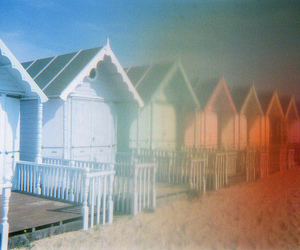 35mm, beach, and pastel image