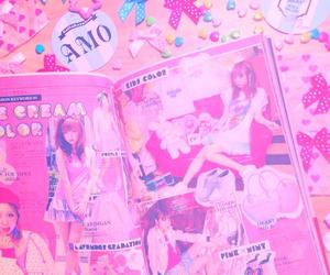 pink, amo, and ゆめかわいい image