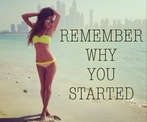 beach, bikini, and motivation image