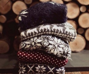 clothes, sweaters, and winter image