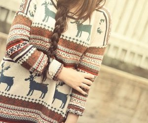 girl, hair, and lovely image