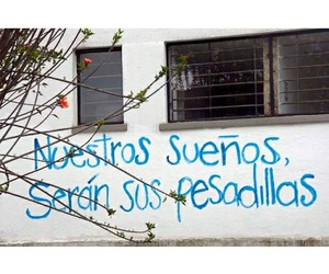 arte, frase, and mural image