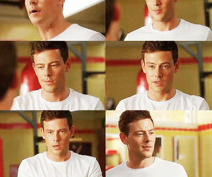 glee and finn hudson image