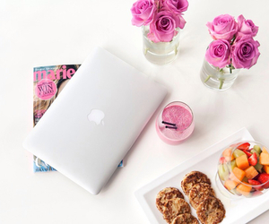flowers, food, and fruit image