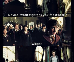 harry potter, twilight, and neville image