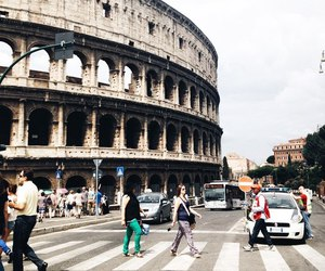 city, colosseo, and italy image