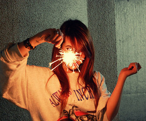 firework and me image
