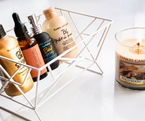 beauty, blogger, and candle image
