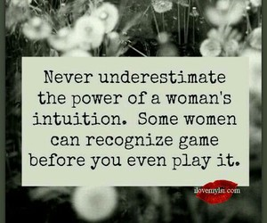 quotes, woman, and intuition image