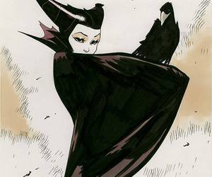 disney, villain, and maleficent image