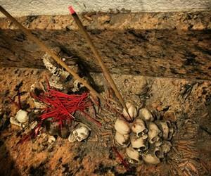 ash, evil, and incense holder image
