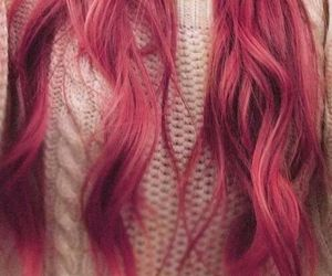 pink, white, and haire image