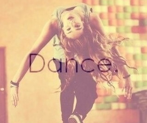 dance, girl, and love image
