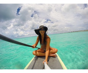 ocean, paradise, and gopro image