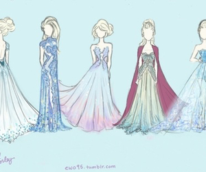 elsa, frozen, and fashion image