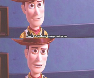 andy, disney, and woody image