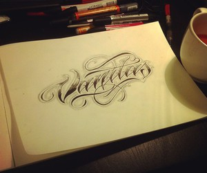 chicano, lettering, and letters image