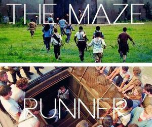 KAYA SCODELARIO, the maze runner, and dylan o'brien image