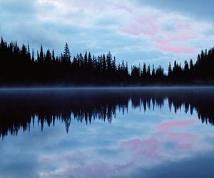 sky, lake, and nature image