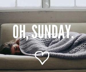 Sunday, sleep, and Lazy image