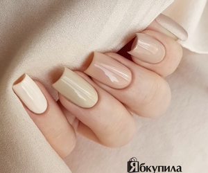 nails, white, and маникюр image
