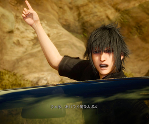 fight, final fantasy, and square enix image