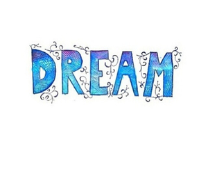 Dream, blue, and drawing image