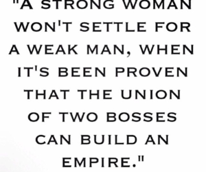 boss, quote, and strong image