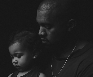 black and white, kanye, and kanye west image