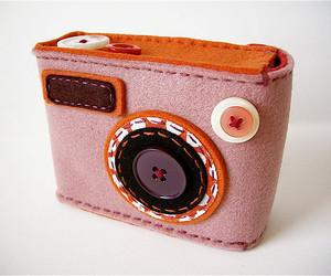 bag, camera, and cute image