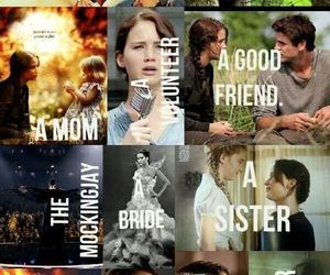 katniss, Jennifer Lawrence, and the hunger games image