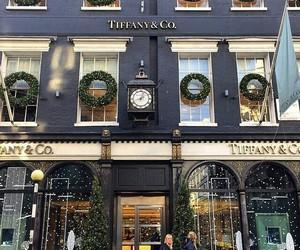 christmas, luxury, and tiffany image