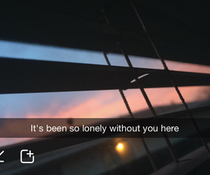 alone, blur, and depressed image