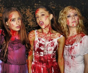 ariana grande, Halloween, and jennette mccurdy image
