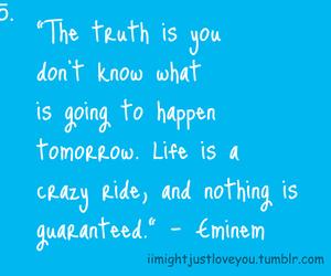 eminem, quote, and tumblr image