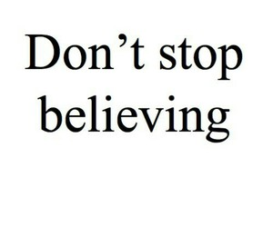 stop, don't, and believing image