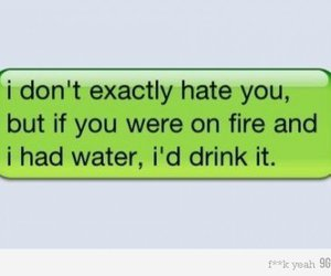 hate, fire, and water image