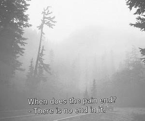 sad, grunge, and pain image