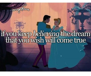believe, wish, and come true image