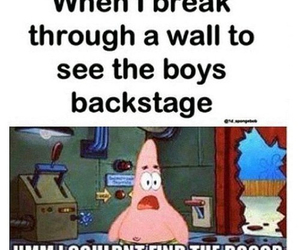 one direction, funny, and patrick image